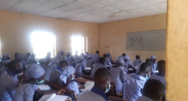 WAEC conducts exams in Chibok 6 years after abduction of schoolgirls lindaikejisblog  2