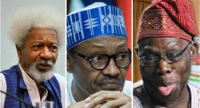 Soyinka backs Obasanjo, says Nigeria has never been this divided lindaikejisblog