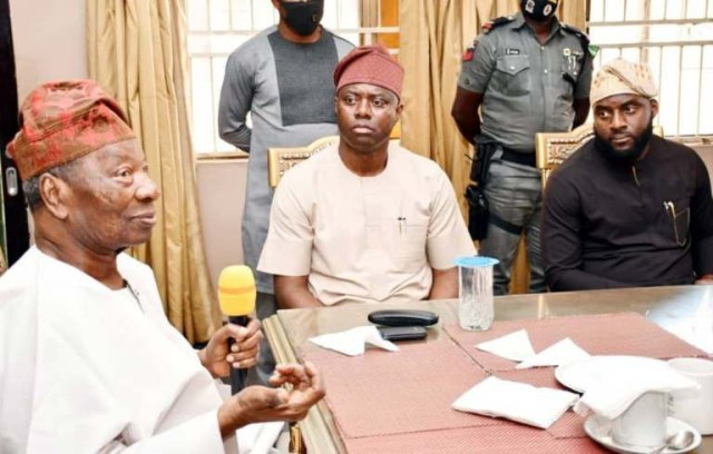 Governor Makinde releases N100m for renovation of Soun of Ogbomoso palace, families of slain victims to get N1m lindaikejisblog