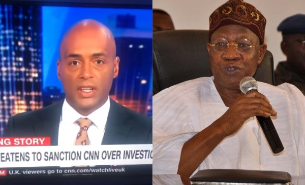 Lai Mohammed did not provide any evidence to back his accusation - Nigerian Minister of Information and Culture called out again by CNN