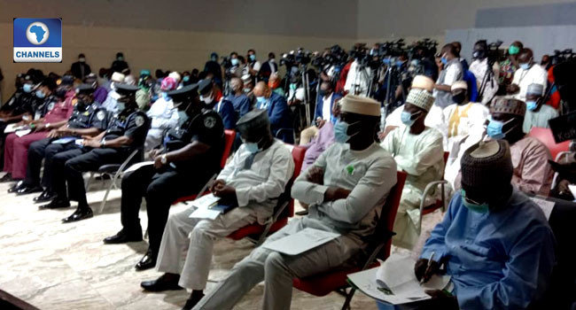 Photos from meeting of Governors with Miyetti Allah leadership in Akure lindaikejisblog 1