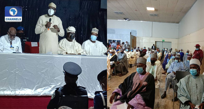 Photos from meeting of Governors with Miyetti Allah leadership in Akure lindaikejisblog