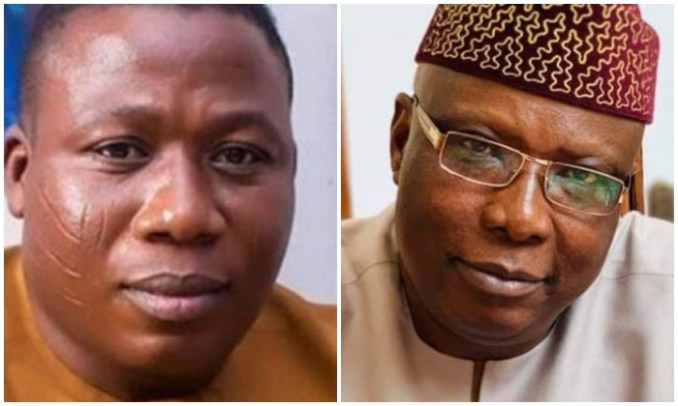 You are a liar  Sunday Igboho reacts to President Buhari's special adviser, Babafemi Ojudu's claim of him being hired to rig Ekiti election