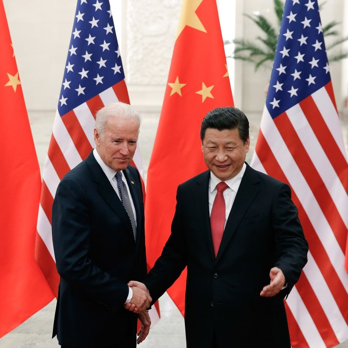 President Joe Biden says Xi Jinping doesnt have a democratic bone in his body and won't deal with him the way Trump did