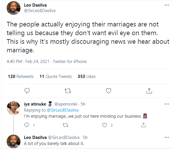 We only hear discouraging news about marriage because those enjoying it are not telling us to avoid evil eye - BBNaija's Leo Dasilva  1