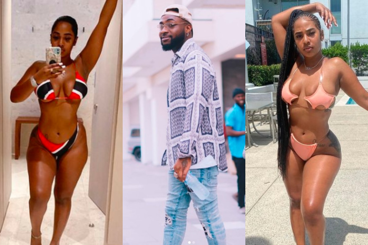 Mya Yafai Young Mas ex-girlfriend and lady who Davido was spotted holding hands with in United States visited him in Nigeria and Ghana