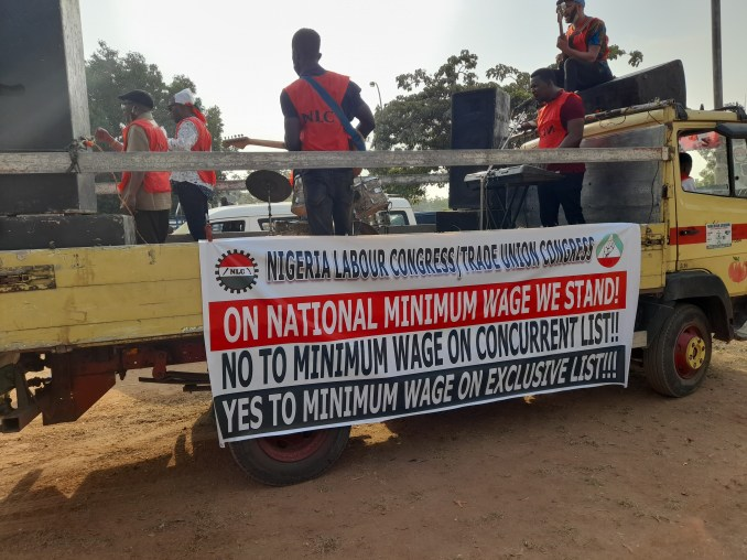 NLC members embark on nationwide protest 8