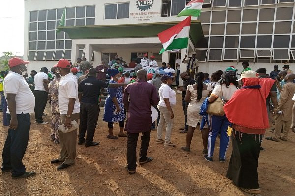 NLC members embark on nationwide protest 10