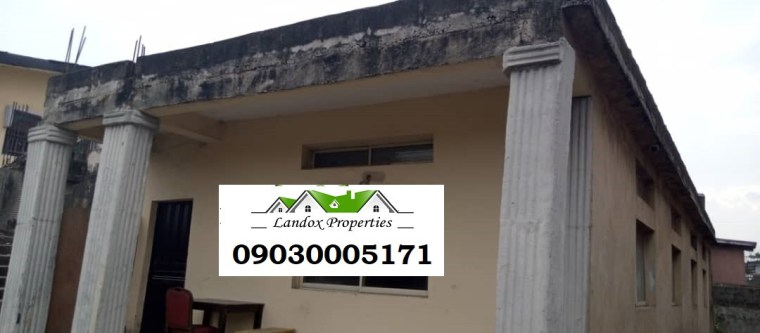 A plot of land with uncompleted building for sale in Surulere Distress Sale lindaikejisblog1