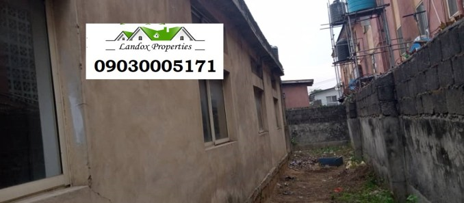A plot of land with uncompleted building for sale in Surulere Distress Sale lindaikejisblog5