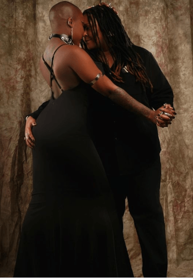 Charly Boy's daughter, Dewy celebrates third anniversary with lesbian partner  3