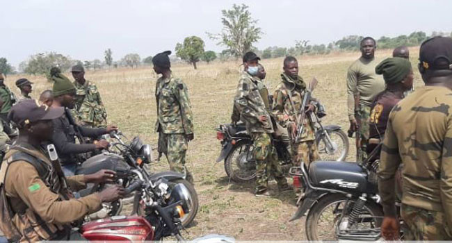 Troops destroy bandits camps in Kaduna kill two