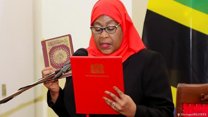 I still kneel and submit to my husband  Tanzanian President Samia Suluhu