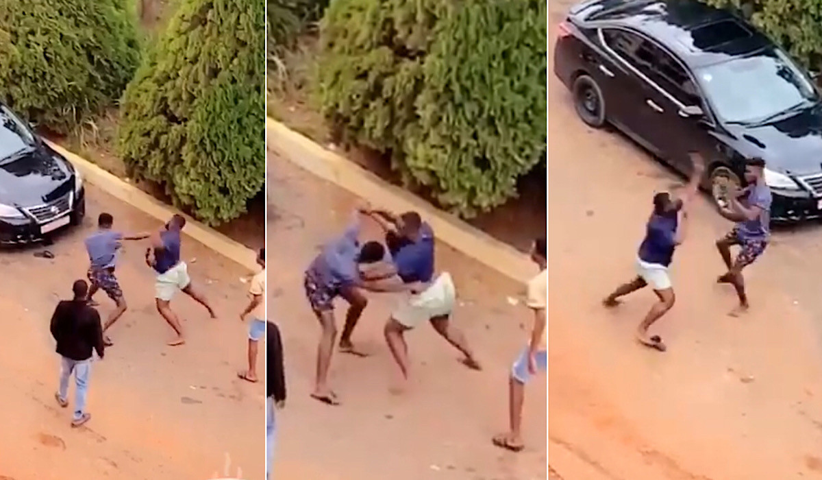 Two students allegedly fight over a girl at KNUST