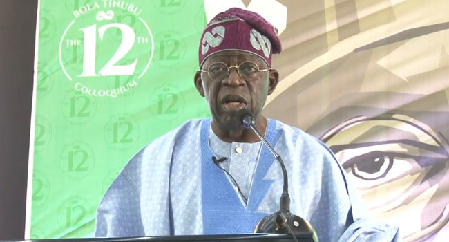 Recruit 50 million youths into Army to tackle insecurity  Tinubu tells Buhari