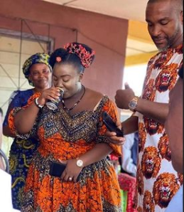 No bride price was paid and I did not kneel down to give him a drink - Facebook feminist, Nkechi Bianze says as she shares photos from her wedding
