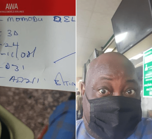 vI was given handwritten boarding pass and it has been on for 62 days - Dele Momodu slams those 'defending incompetence at Murtala Mohammed International Airport'