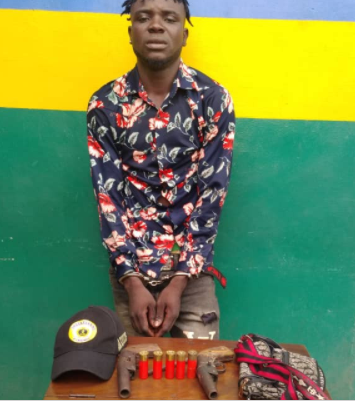 Another armed robbery suspect arrested with arms and ammunition in Lagos