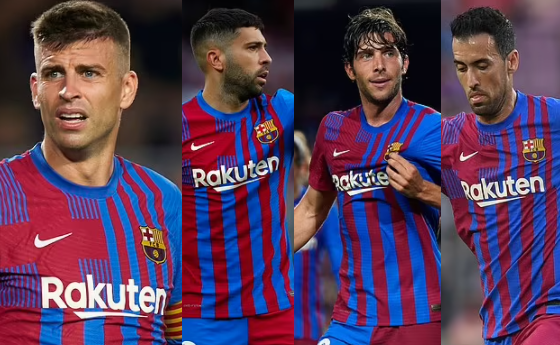 Gerard Pique insists his fellow captains Jordi Alba, Sergio Busquets, and Sergi Roberto will reduce their salaries to ease Barcelona's financial woes