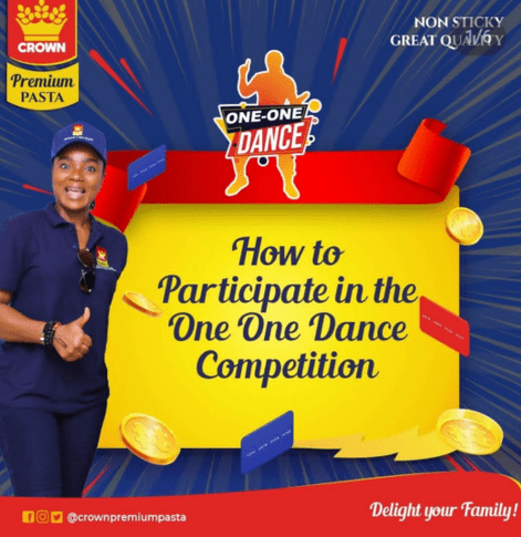 crown pasta one on one dance campaign