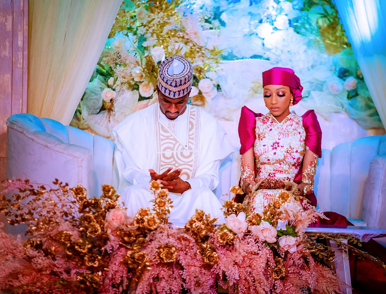 Buhari, Osinbajo, others at Yusuf and Zahra's wedding luncheon (photos)