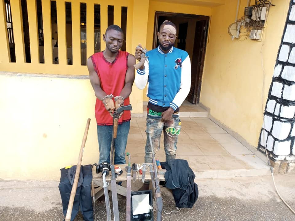 Police arrest 6 suspected armed robbers in Niger State, rescue one from angry mob