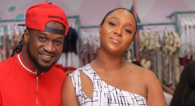 Papas here - Anita Okoye also shares a video of her children meeting their father Paul Okoye a.k.a Rude Boy after school in United States