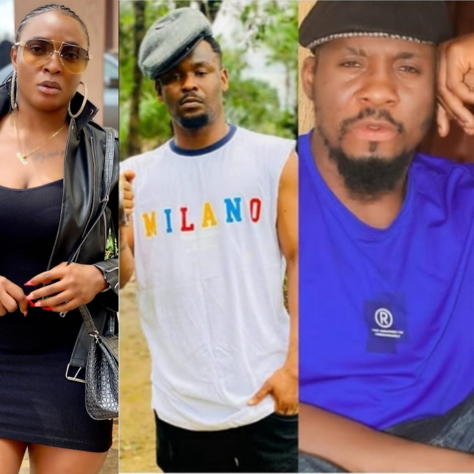 Blessing Okoro reacts to Junior Pope and Zubby Michael's post criticising Annie Idibia for making marriage crises public; Junior Pope responds