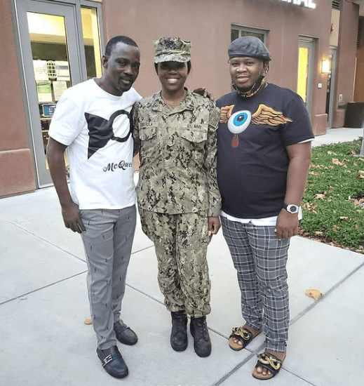 Pasuma visits daughter who is a Naval officer in US Navy at her base in California 5