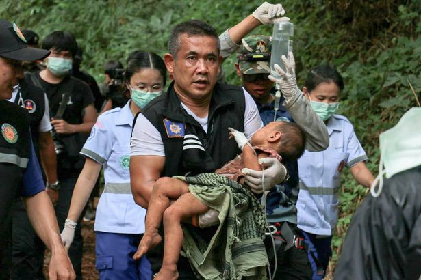 Baby girl found alive after 3 nights in cave where kidnapper tried to sacrifice her