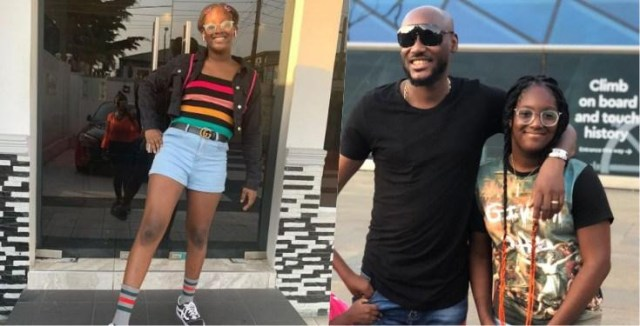 Tuface and Annie Idibia's daughter, Isabelle replies troll who tried to body-shame her but can't spell