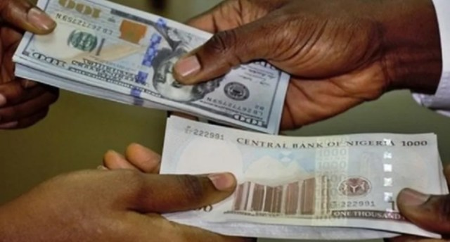 Naira now trading at 545 $ in parallel market
