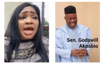 I can afford any life style without being sponsored by anyone - Businesswoman Blessing Osom says after being accused of being Akpabio's girlfriend