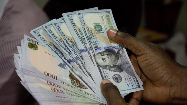 Naira's free fall continues now exchanging at N550 to $1