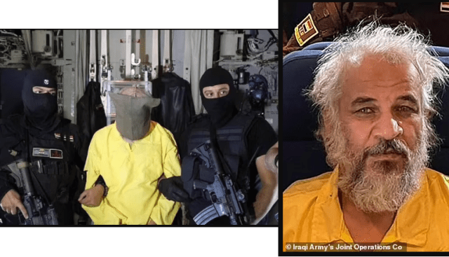 Iraqi forces detain ISIS second in command who had $5million US bounty on his head