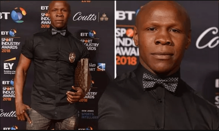Boxing champ Chris Eubank mugged by thief who runs off with his Louis Vuitton bag in  London