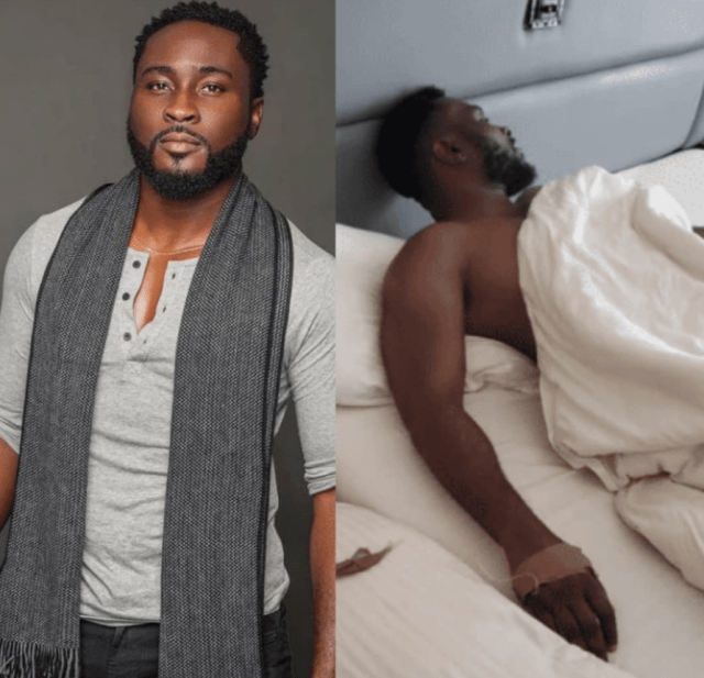 BBNaijas Pere hospitalized 11 days after the reality show was concluded