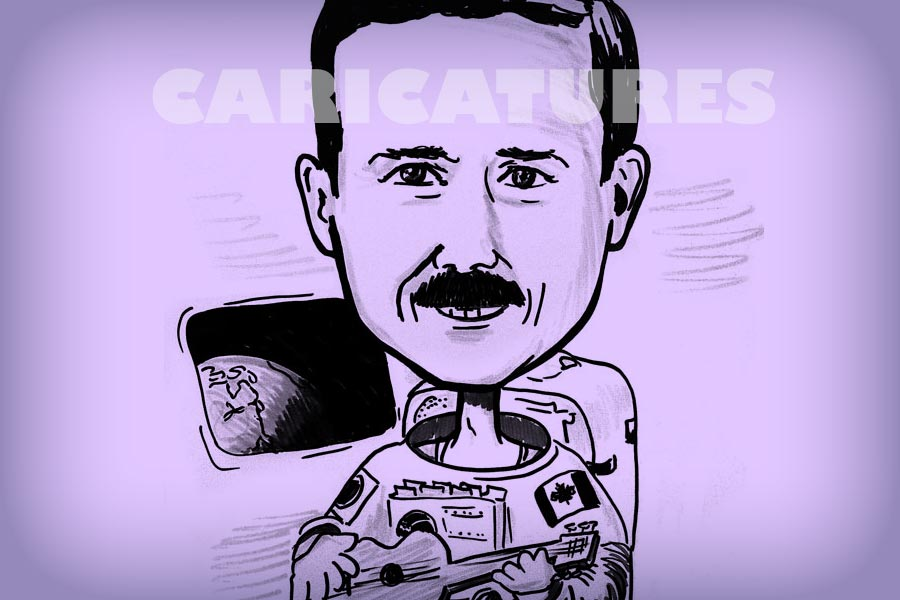 Caricature Artist Feature