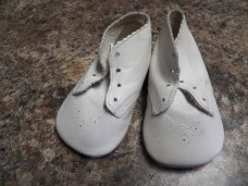 Sentimental item kept-my baby shoes.