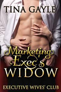 Marketing Exec's Widow cover