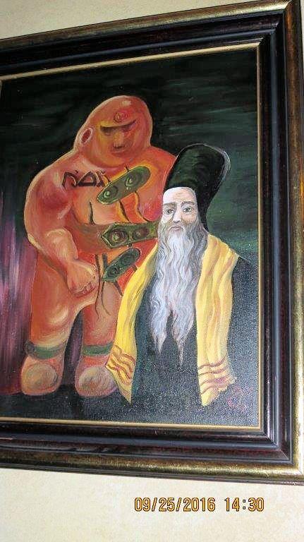Rabbi Loew and the Golem