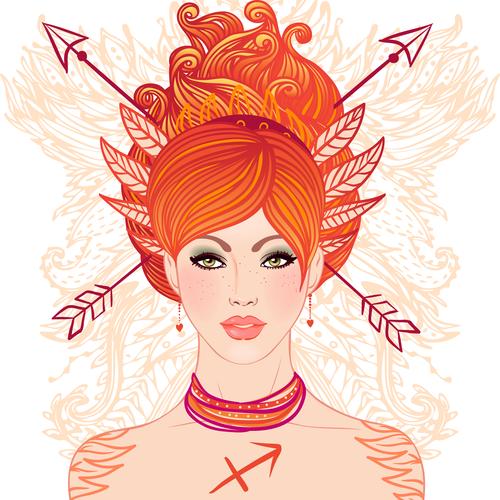 Sagittarius astrological sign @ vgorbash