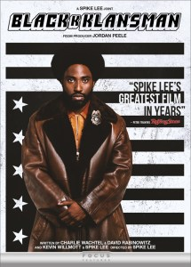 Blackk Klansman DVD cover