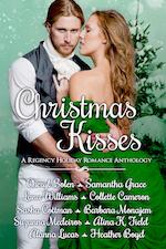 Christmas Kisses Anthology cover