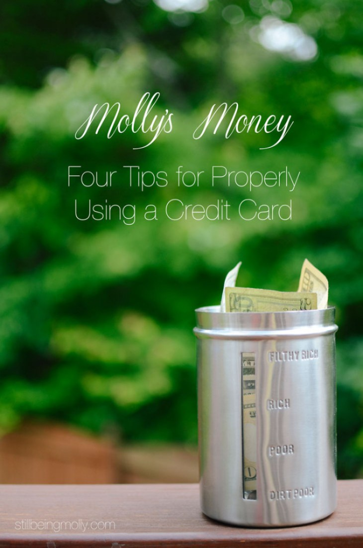 Four-Tips-for-Properly-Using-a-Credit-Card