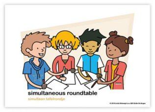 Dagritmekaart bovenbouw simultaneous roundtable