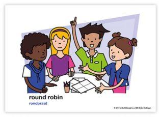 Dagritmekaart bovenbouw round robin