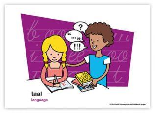 Dagritmekaart bovenbouw taal