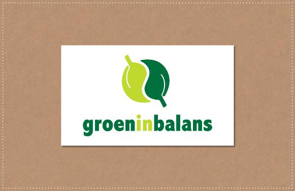 ontwerp Logo Groen in Balans