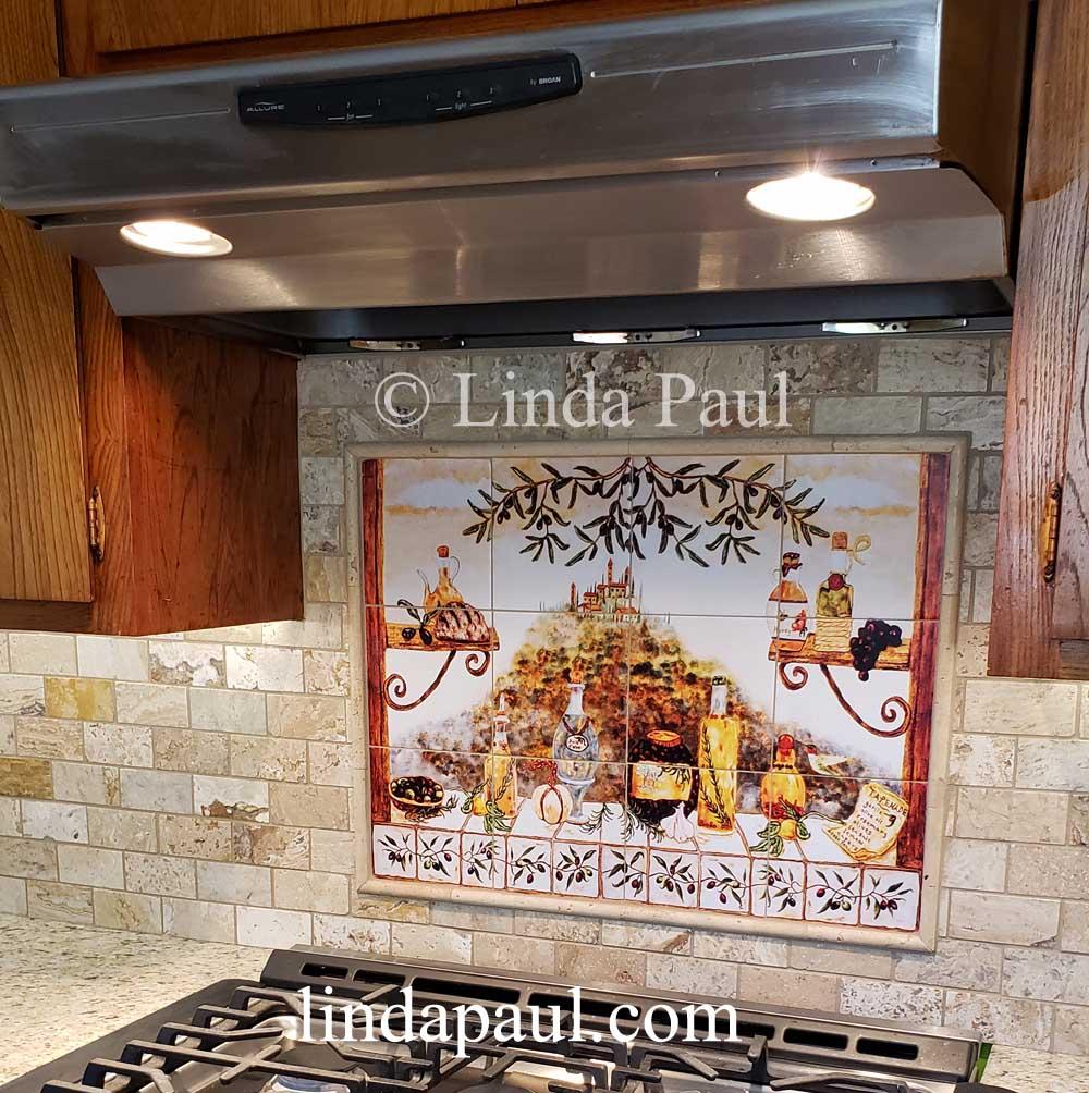 italian tile backsplash kitchen tiles